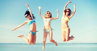 Fit für den Bikini - ohne Fitnessstudio & Diät