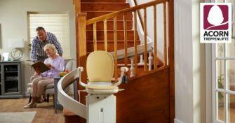 Treppenlifte von Acorn für ein barrierefreies zu Hause | apomio Gesundheitsblog