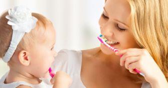 Kinderzähne richtig putzen