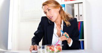 Nervennahrung: Richtig essen trotz und gegen Stress