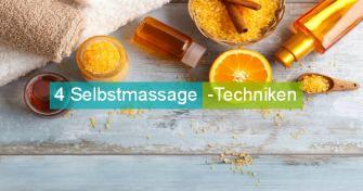 Entspannung auch alleine möglich: 4 Selbstmassage-Techniken