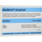 Aluderm Aluplast Wundverb Pflast elast 1mx4cm günstig im Preisvergleich