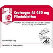 Crataegus AL 450mg Filmtabletten günstig im Preisvergleich