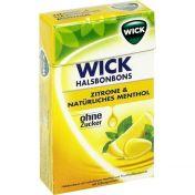 WICK Zitrone & Natürliches Menthol ohne Zucker günstig im Preisvergleich