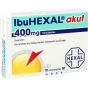 Ibuhexal akut 400 günstig im Preisvergleich