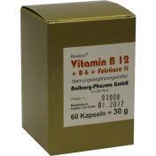 Vitamin B12 + B6 + Folsäure Komplex N