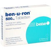 ben-u-ron 500mg Tabletten