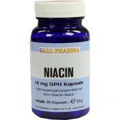 NIACIN 15mg Kapseln günstig im Preisvergleich