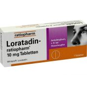 Loratadin-ratiopharm 10mg Tabletten