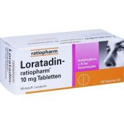 Loratadin-ratiopharm 10mg Tabletten