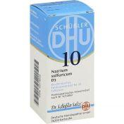 BIOCHEMIE DHU 10 NATRIUM SULFURICUM D 3 günstig im Preisvergleich