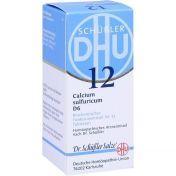 BIOCHEMIE DHU 12 CALCIUM SULFURICUM D 6 günstig im Preisvergleich