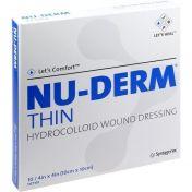 NU-DERM Thin Hydrokolloid-Verband 10x10cm