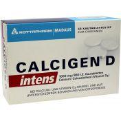 Calcigen D intens 1000 mg/880 I.E.Kautabletten