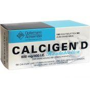 Calcigen D Kautabletten