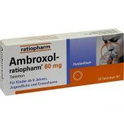 Ambroxol-ratiopharm 60mg Hustenlöser