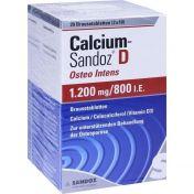 Calcium-Sandoz D Osteo intens 1200mg/800 I.E. Bta