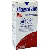 Allergodil akut Duo 4ml AT akut / 10ml NS akut