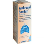 Ambroxol Sandoz 7.5mg/ml Tropfen