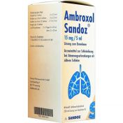 Ambroxol Sandoz 15mg/5ml Saft