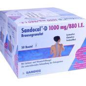 Sandocal-D 1000/880