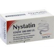 Nystatin STADA 500.000 I.E. überzogene Tabletten