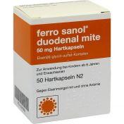 Ferro Sanol duodenal mite 50mg mr.Pellets in Kaps.