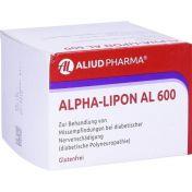 Alpha-Lipon AL 600 günstig im Preisvergleich