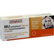 IBU-ratiopharm 200mg akut Schmerztabletten