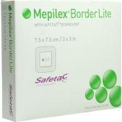 Mepilex Border Lite 7.5x7.5 cm steril