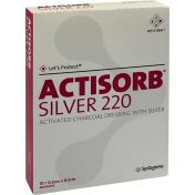 ACTISORB 220 Silver 9.5x6.5cm steril