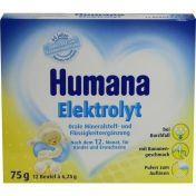 Humana Elektrolyt Banane Pulver