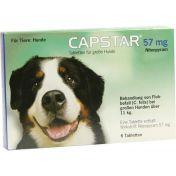 Capstar 57mg für große Hunde Tabletten