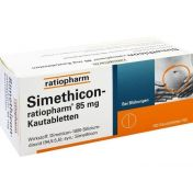 Simethicon-ratiopharm 85MG Kautabletten