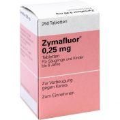 ZYMAFLUOR 0.25MG