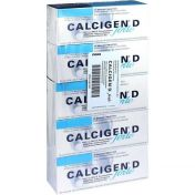 Calcigen D forte 1000mg/880I.E. Brausetabletten günstig im Preisvergleich