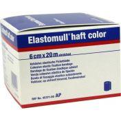 ELASTOMULL HAFT 20MX6cm color blau