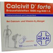 Calcivit D forte günstig im Preisvergleich