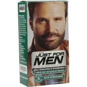 JUST FOR MEN PFLEGE-BRUSH-IN-COLOR NATUR SCHWA/BRA