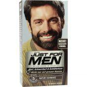 JUST FOR MEN PFLEGE-BRUSH-IN-COLOR NATUR SCHWARZ
