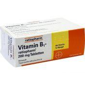 Vitamin-B1-ratiopharm 200mg Tabletten