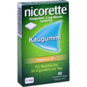 Nicorette 2mg Freshfruit Kaugummi
