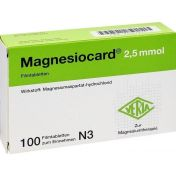 Magnesiocard 2.5mmol