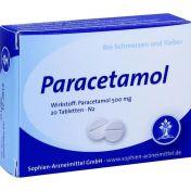 Paracetamol Sophien 500