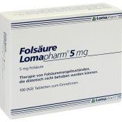 Folsäure Lomapharm 5mg