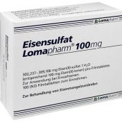 Eisensulfat Lomapharm 100mg