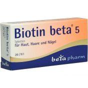 Biotin beta 5