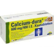 Calcium-dura Vit D3 600mg/400 I.E.