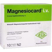 MAGNESIOCARD IV
