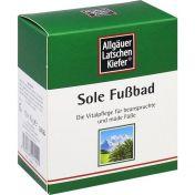 Allgäuer LK Sole Fußbad